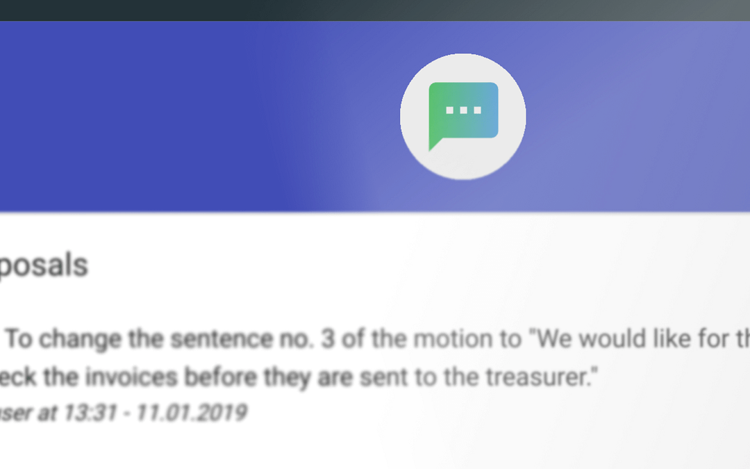 New feature: Proposals is now available